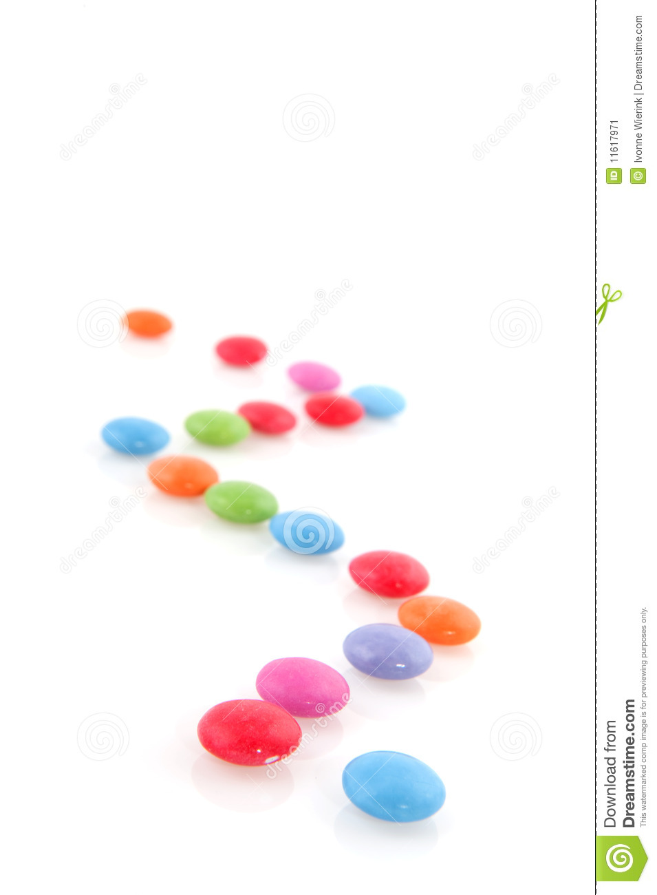 Candy Trail Stock Image Image 11617971