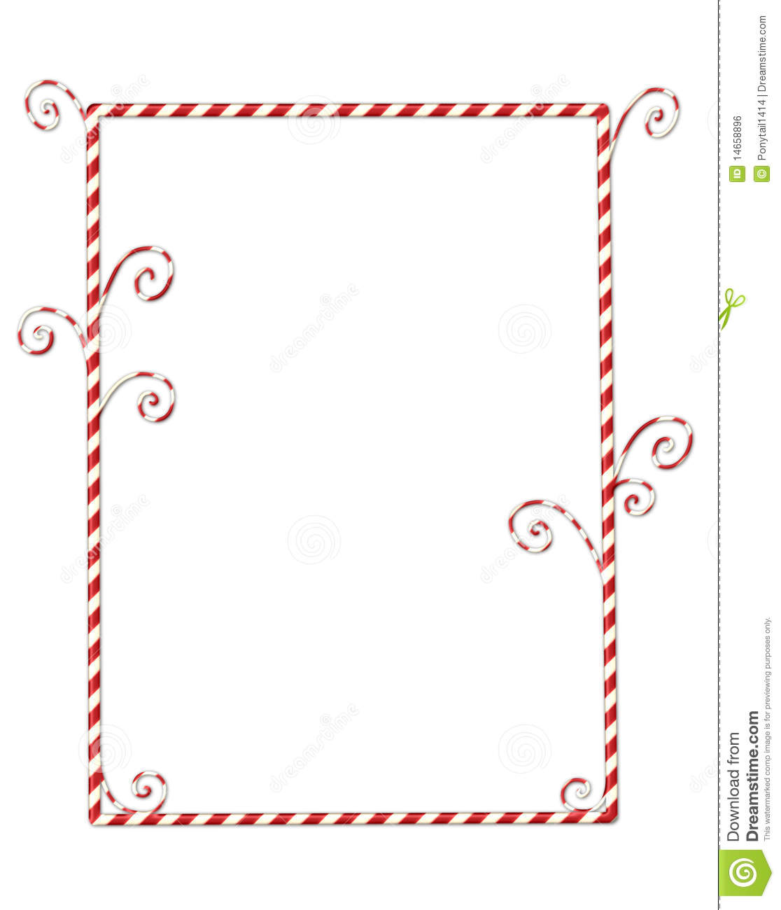 Candy cane clip art black and white candycane border isolated on