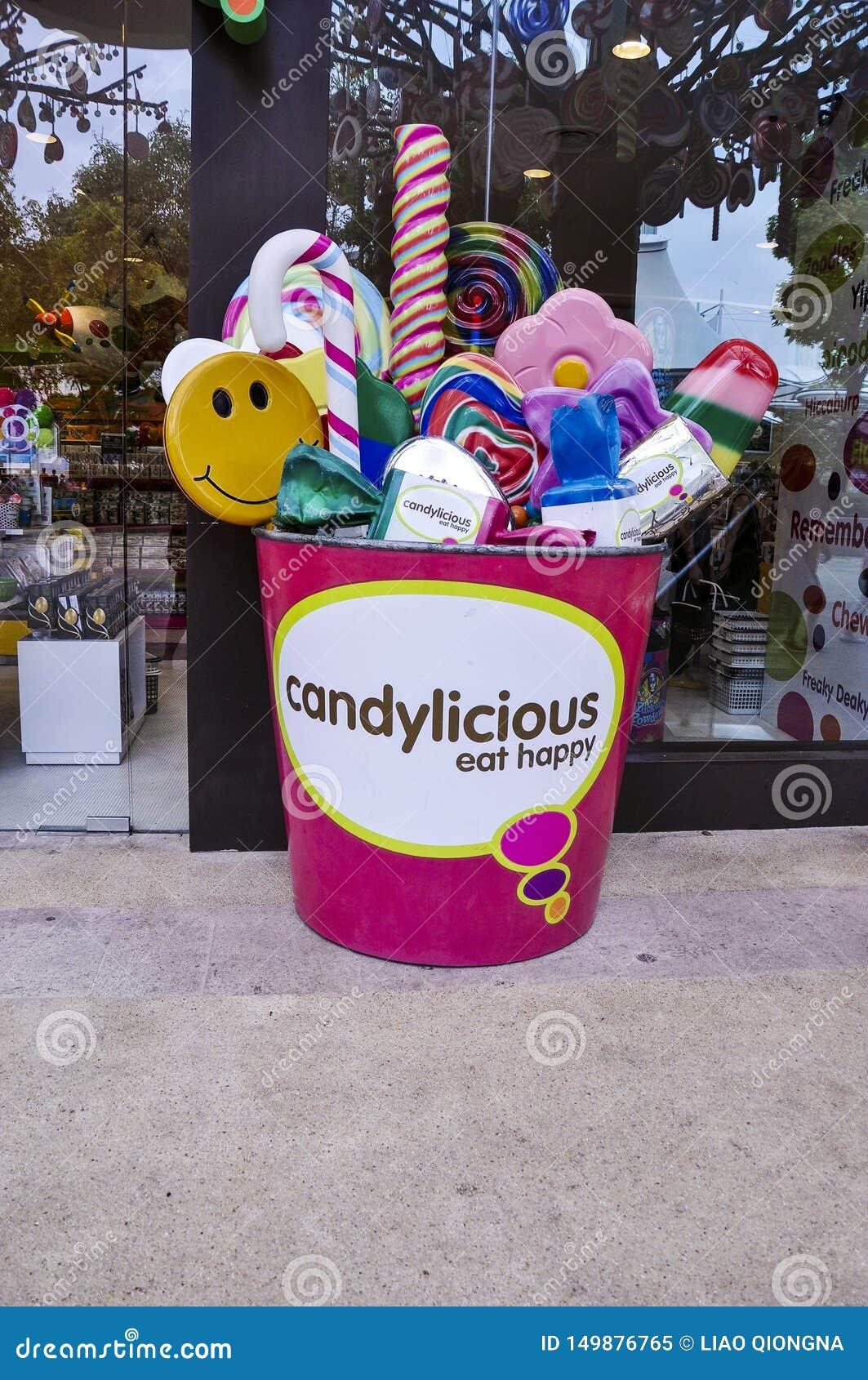 Candylicious em Universal Studios Singapura