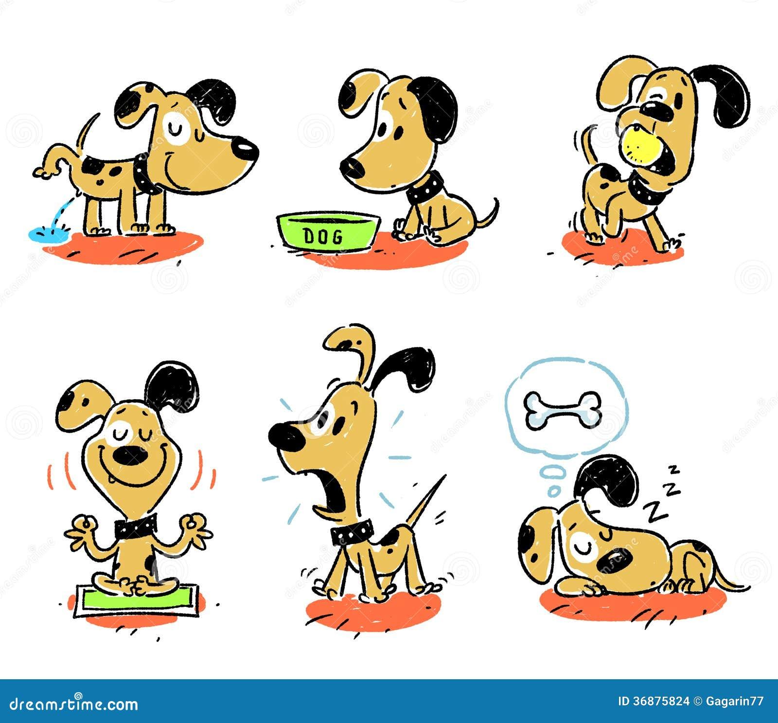 Download Cane, Animale, Fumetto, Animale Domestico Illustrazione di Stock - Illustrazione di immagine, puppy: 36875824
