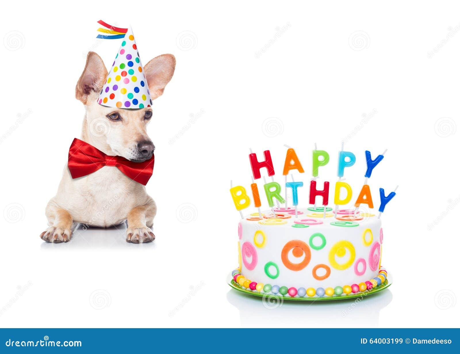 Cane della torta di compleanno immagine stock immagine - Colorazione pagina della torta di compleanno ...