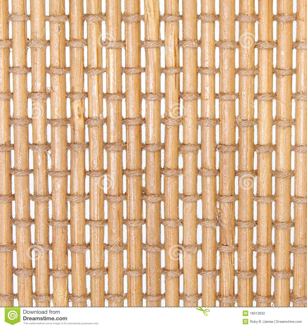 Cane and Twine Weave Background