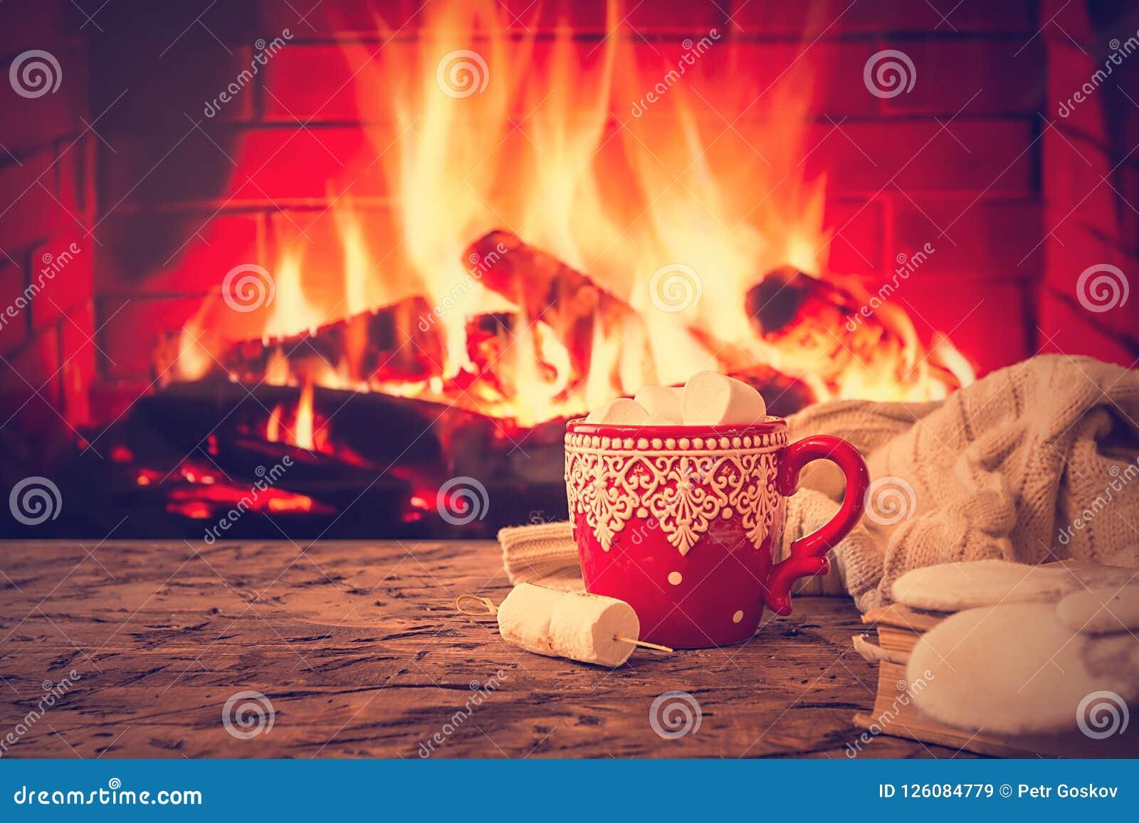 Caneca de chocolate quente ou de café
