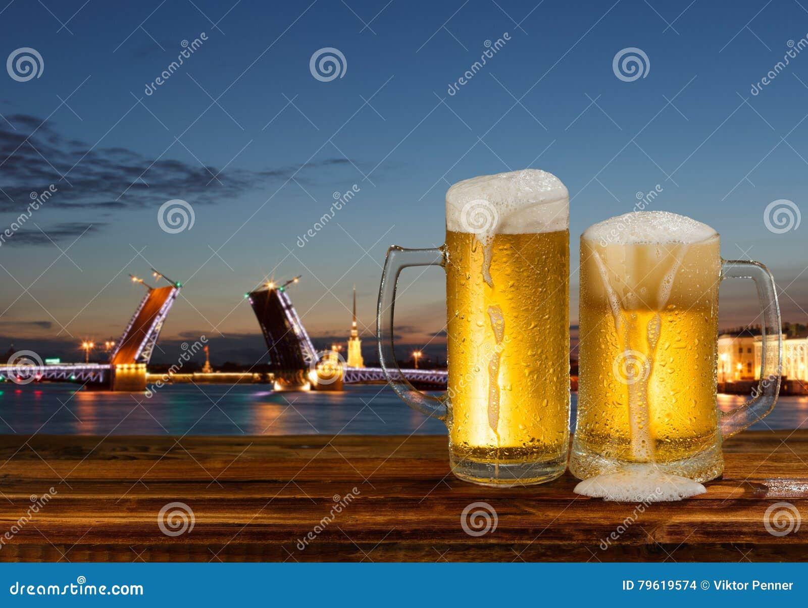 Caneca fria de cerveja