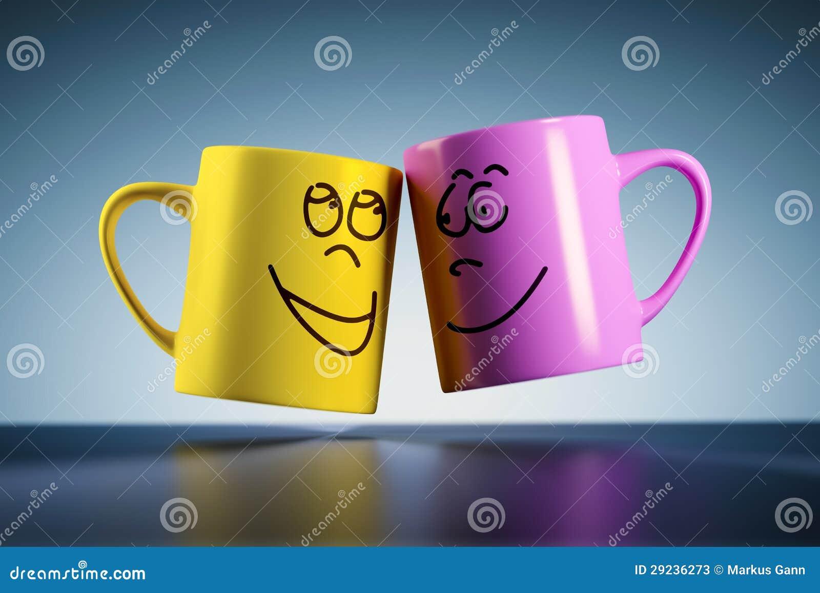 Download Canecas de café sem peso ilustração stock. Ilustração de modo - 29236273
