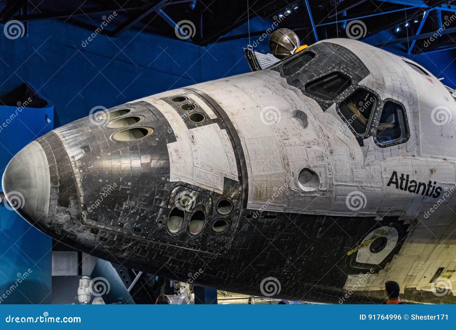Canela de espaço Atlantis