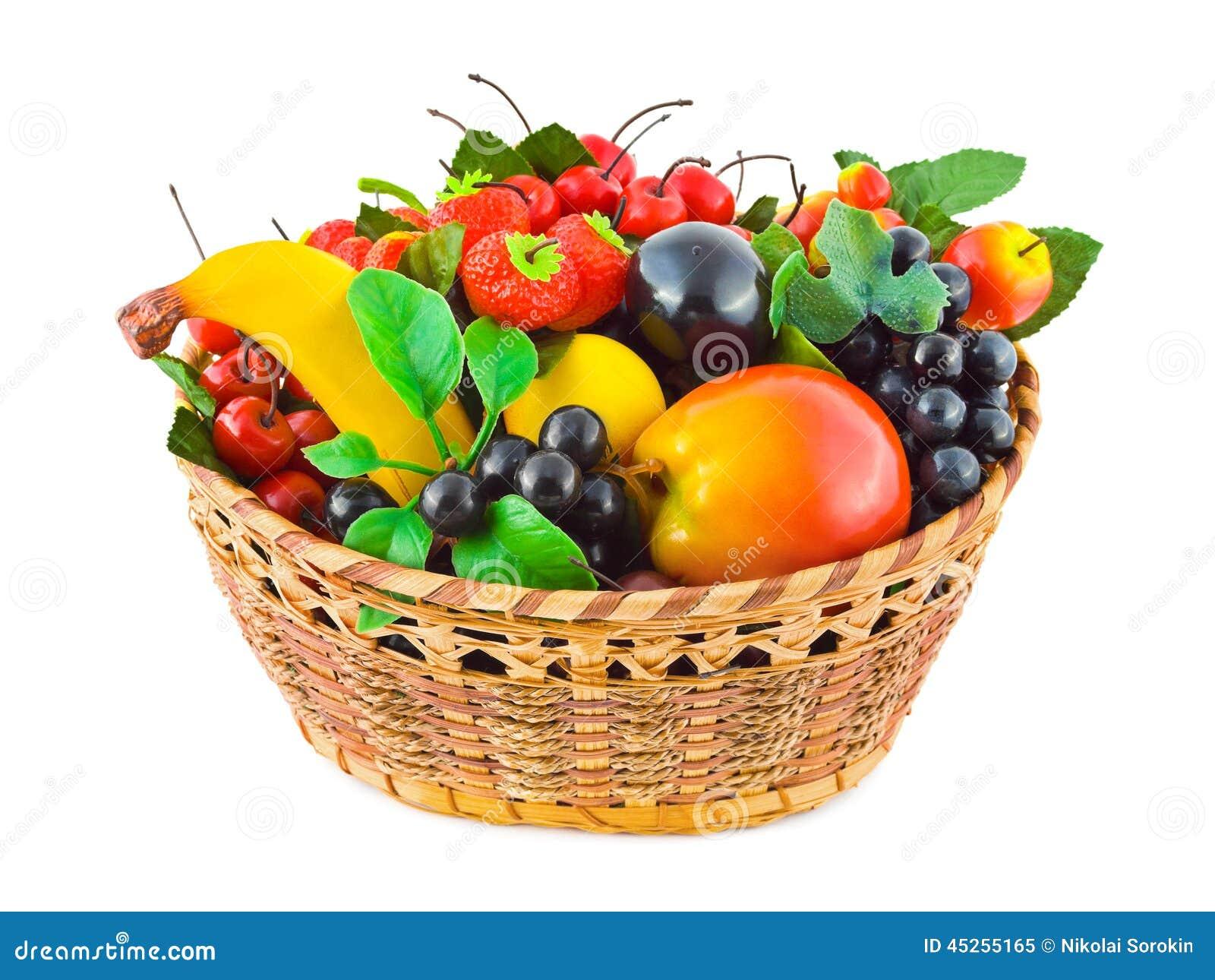 Canestro con i frutti immagine stock immagine di cestino for Decorazione a canestro