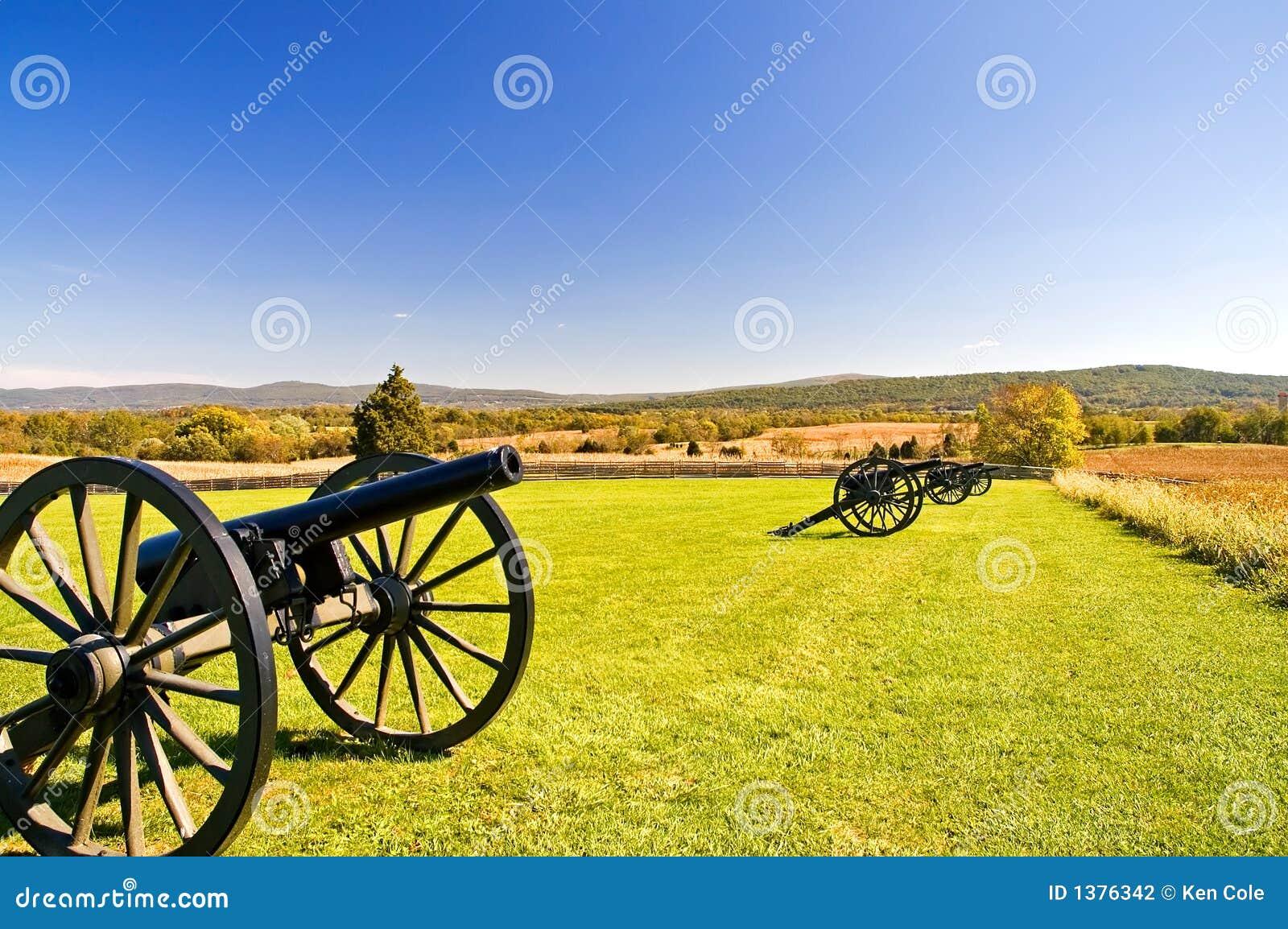 Canhões em Antietam - 3