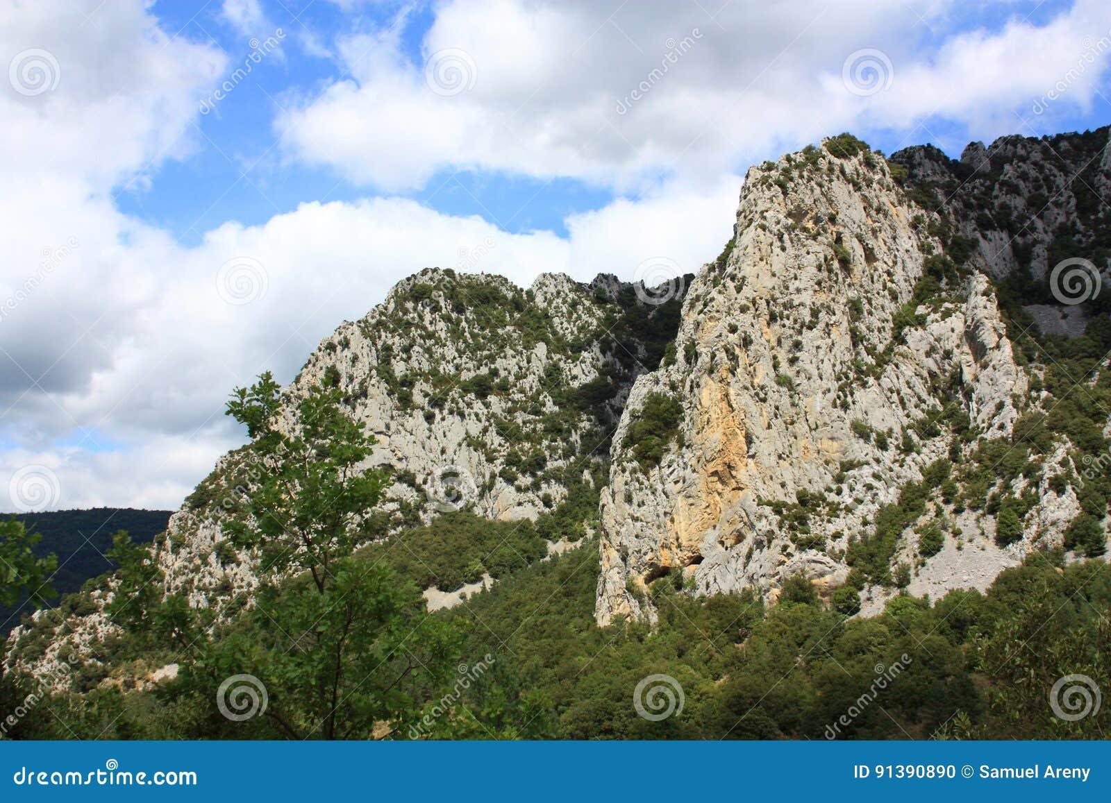Canion van Pierre Lys in de Pyreneeën, Frankrijk
