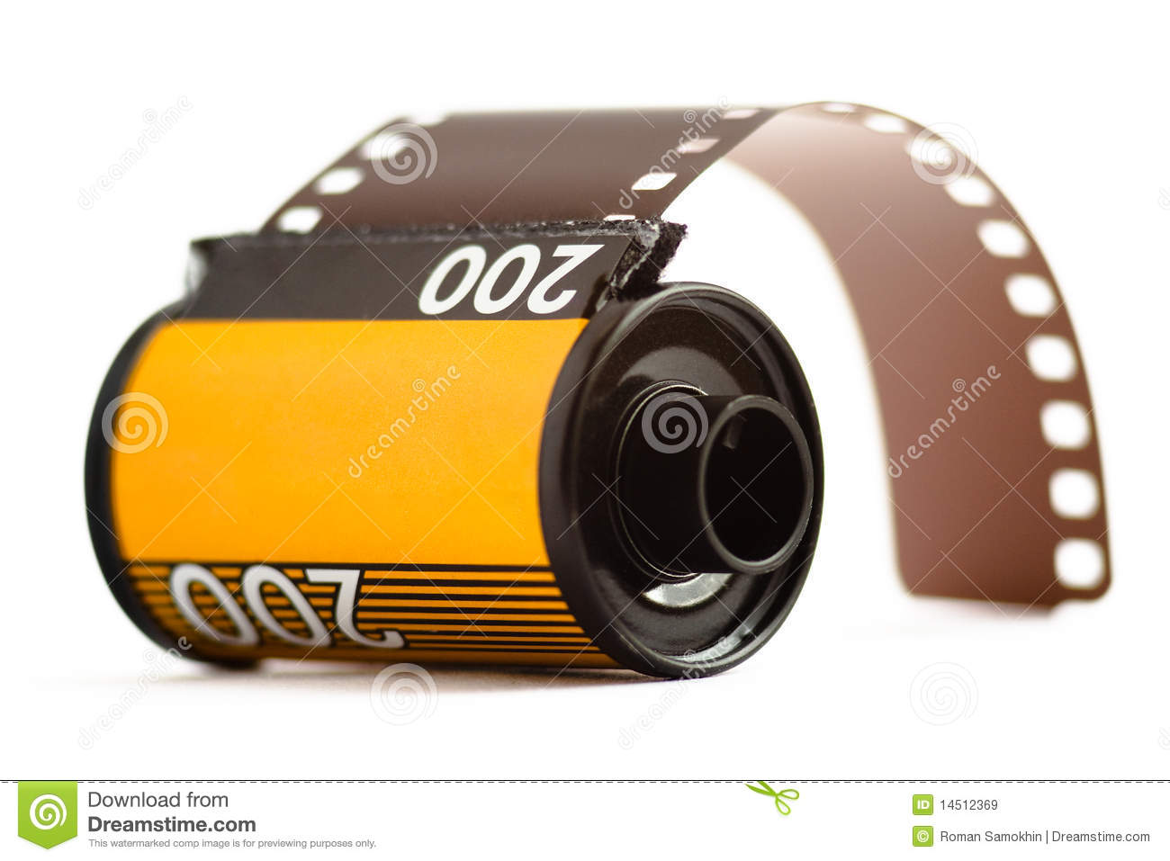 Canister Of 35mm Film Royalty Free Stock Images - Image ...