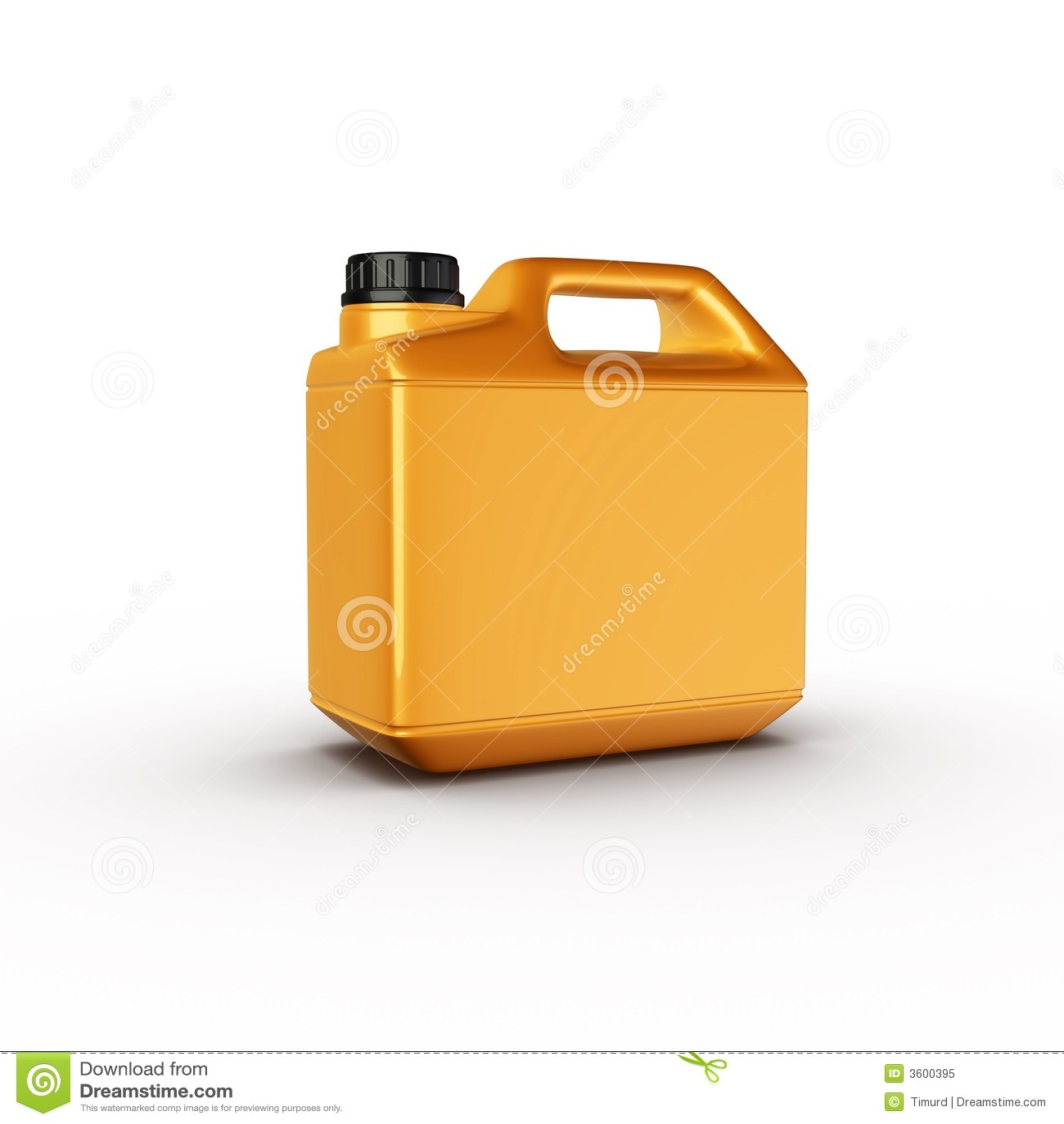 Canister Motor Oil Bottle Royalty Free Stock Photo