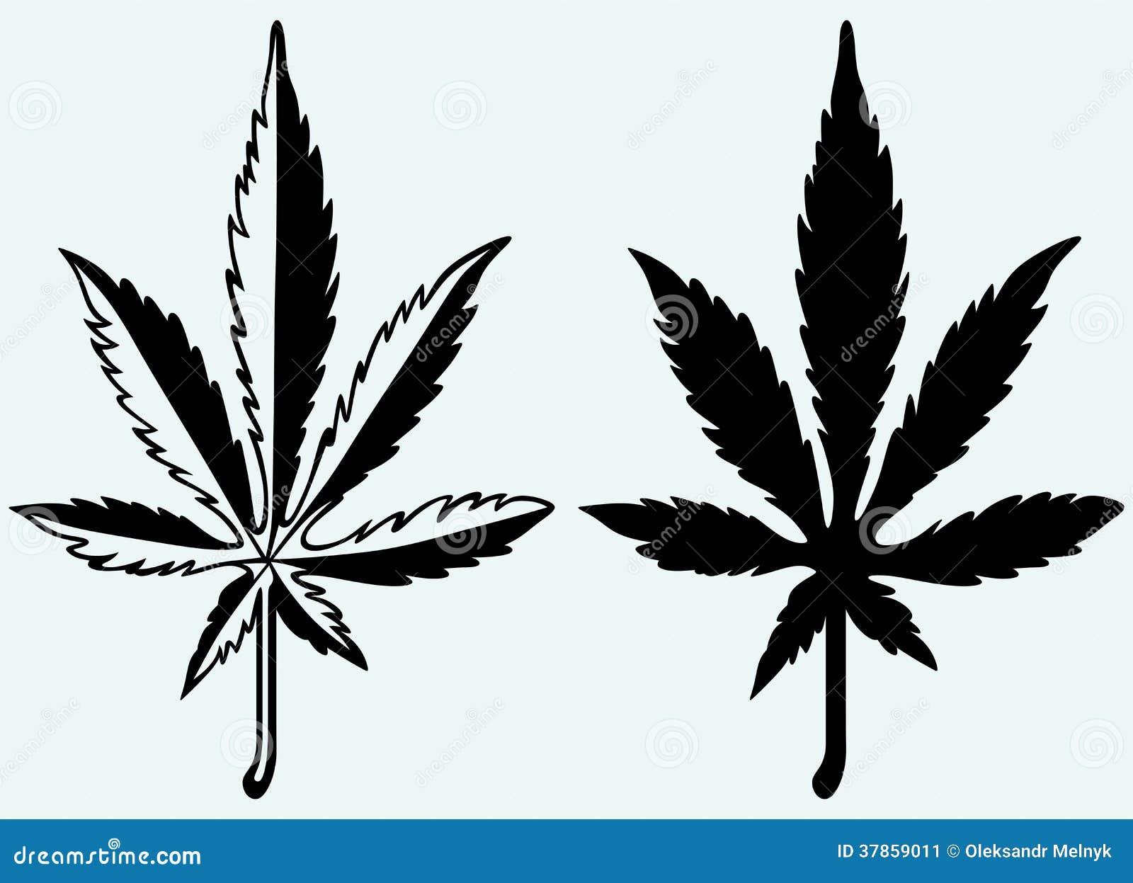 cannabis leaf silhouette marijuana image