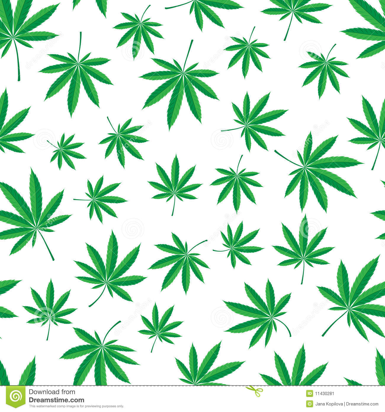 Cannabis pattern stock vector illustration of herbal for Weed leaf template