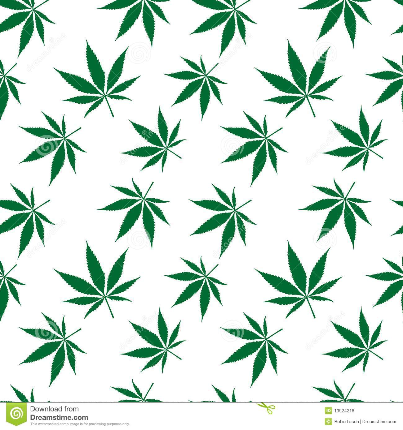 Cannabis seamless pattern extended stock vector for Design patterns for pot painting