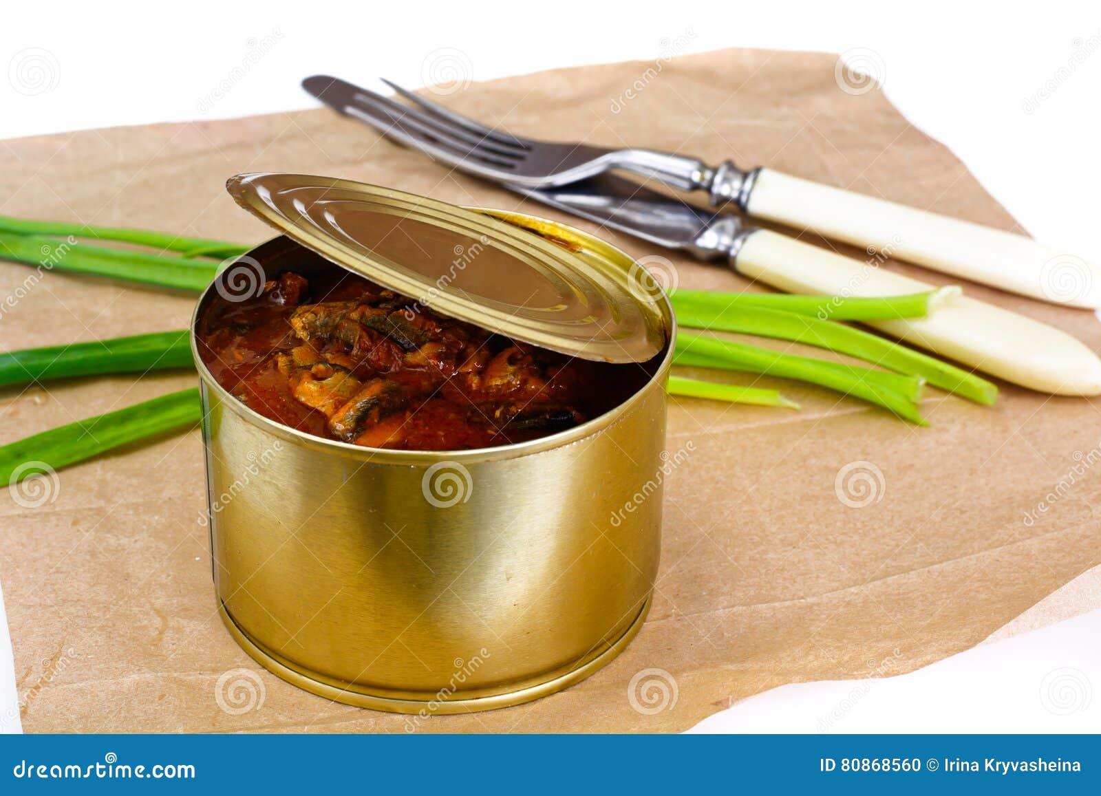 Fish sprat soup in tomato sauce: a recipe 75