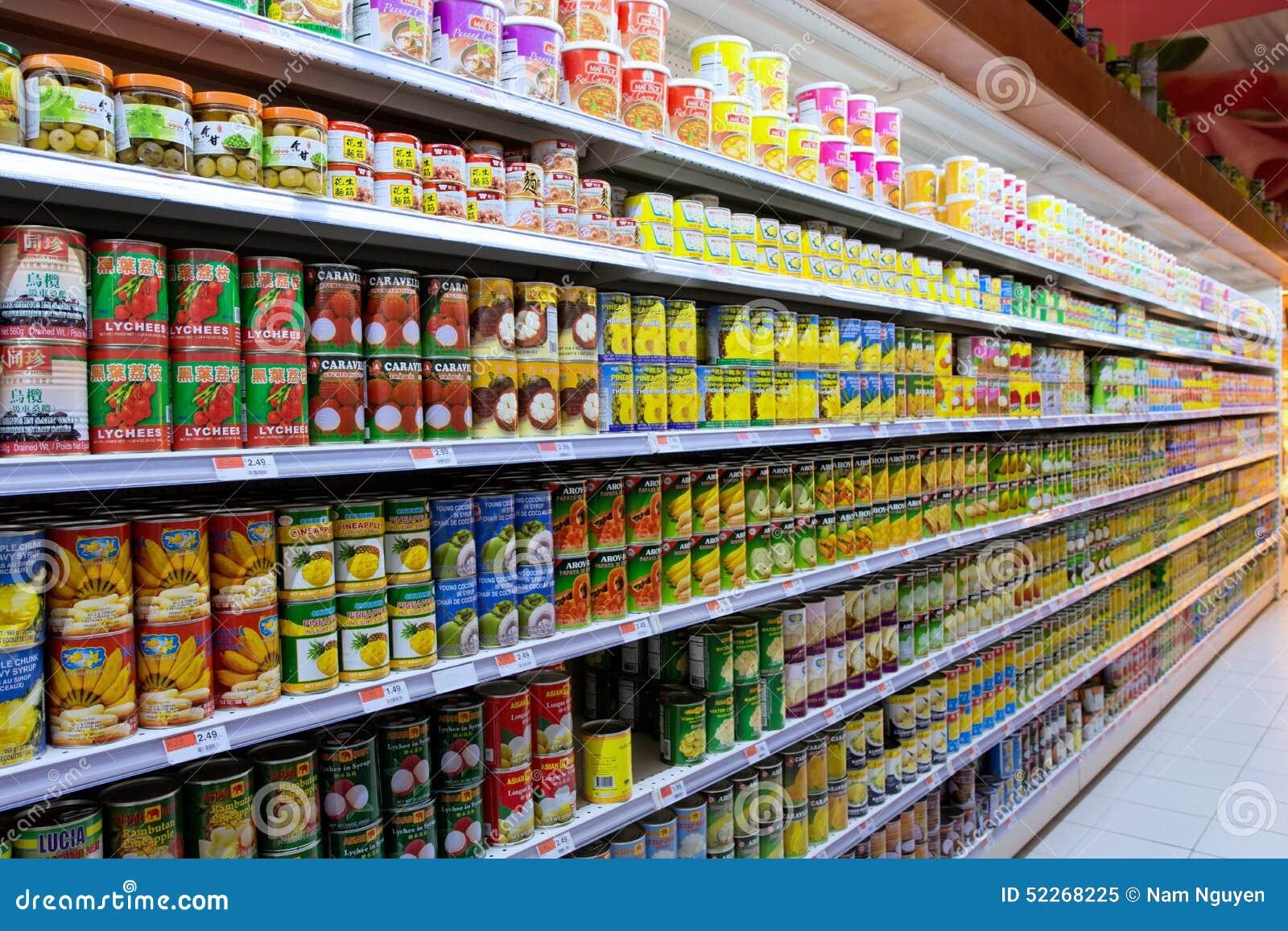 Food Market Aisles