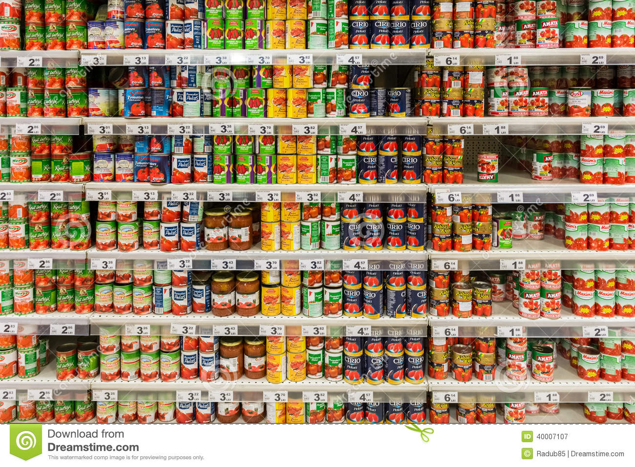 Canned Food Free Stock Photo