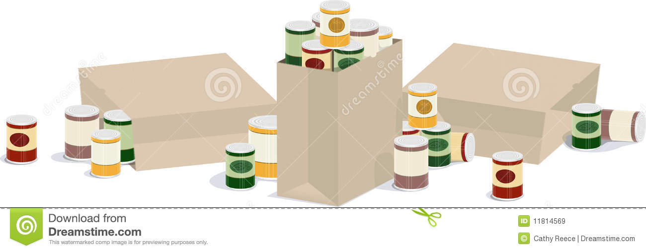 Canned good banner