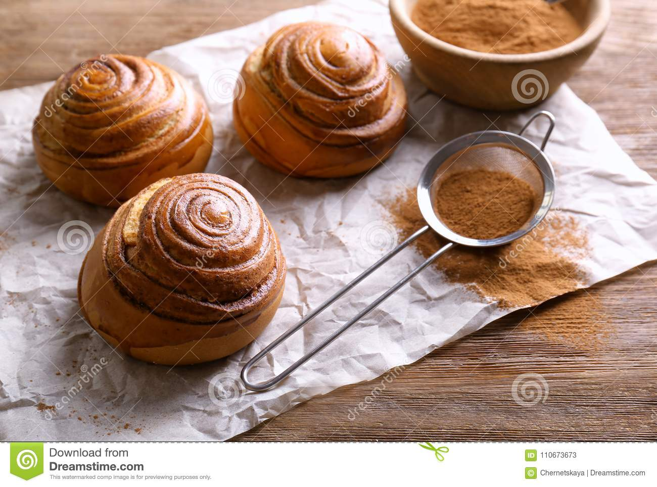 Cannelle douce Rolls