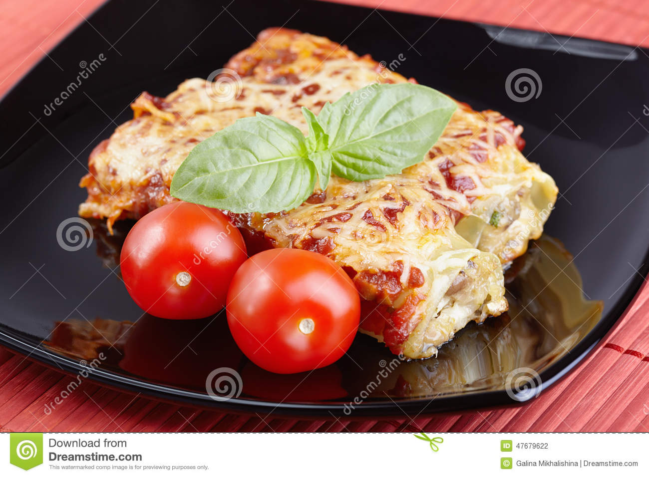 Cannelloni Royalty Free Stock Photography Cartoondealer