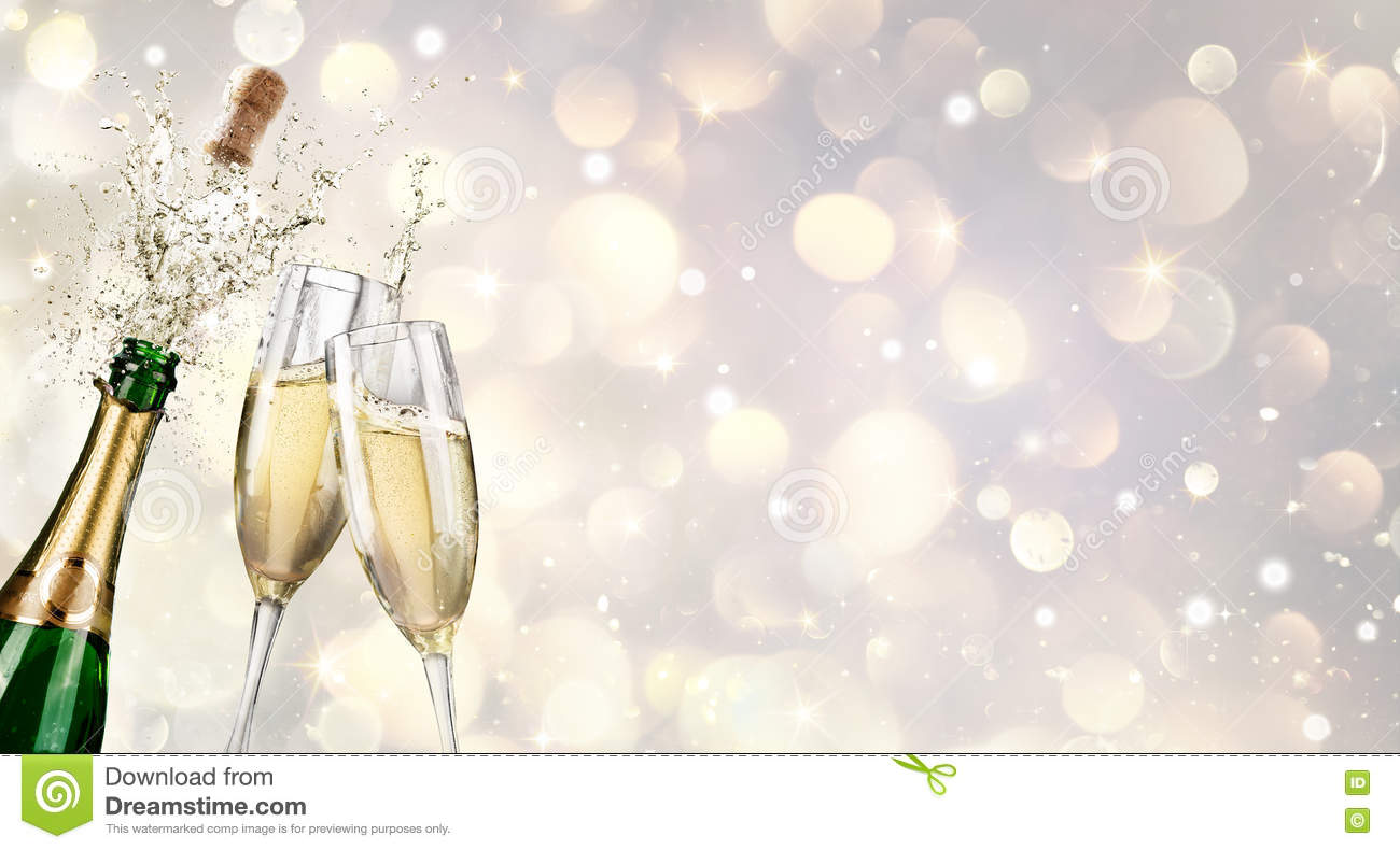 Cannelures de Champagne Explosion With Toast Of