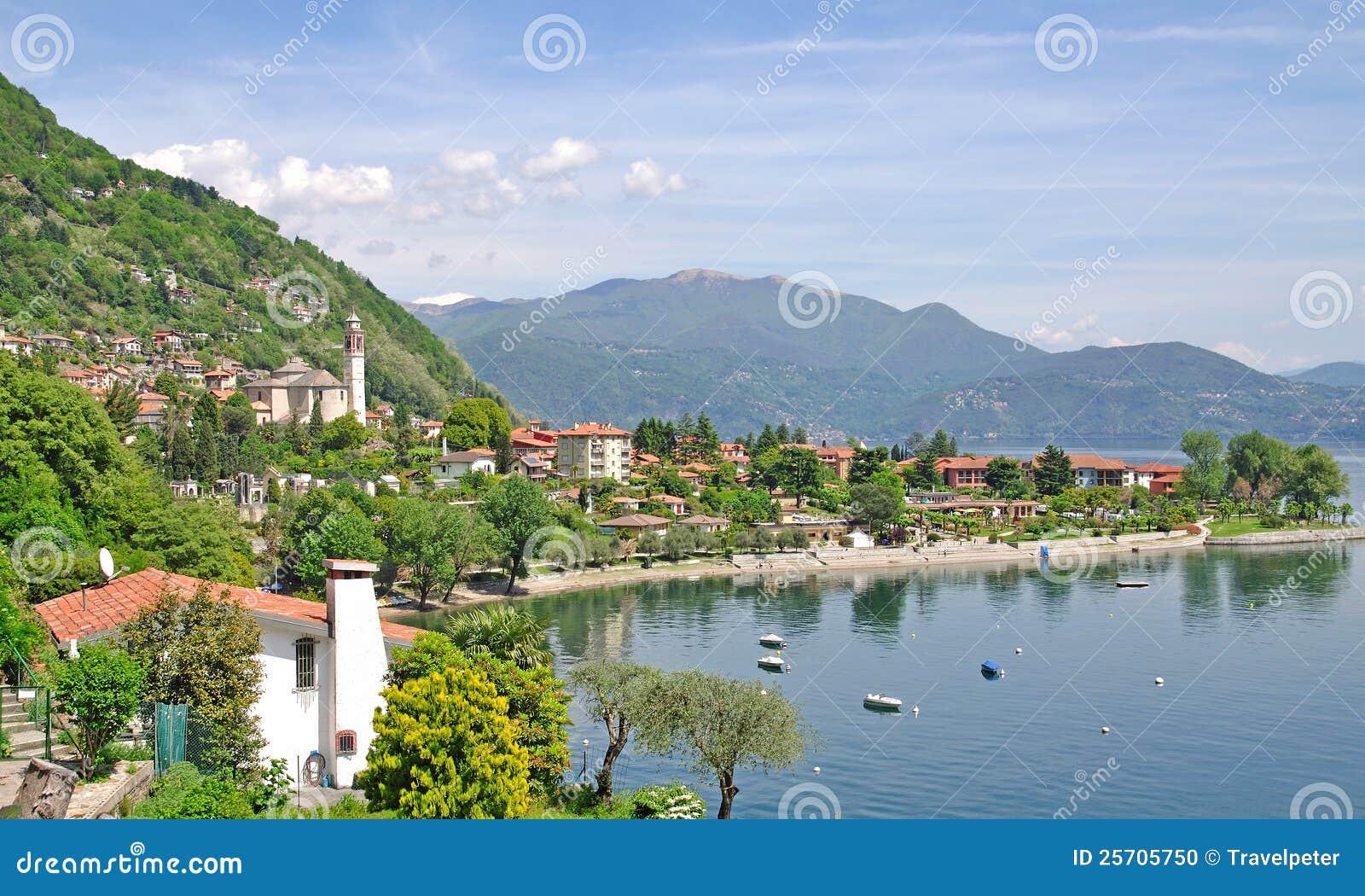 Cannero Riviera, lago Maggiore, Lago Maggiore, Italy