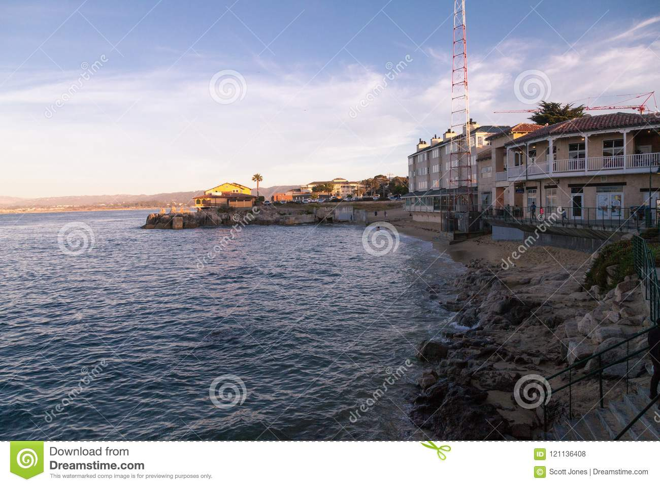 Cannery Row In Monterey Editorial Stock Photo Image Of