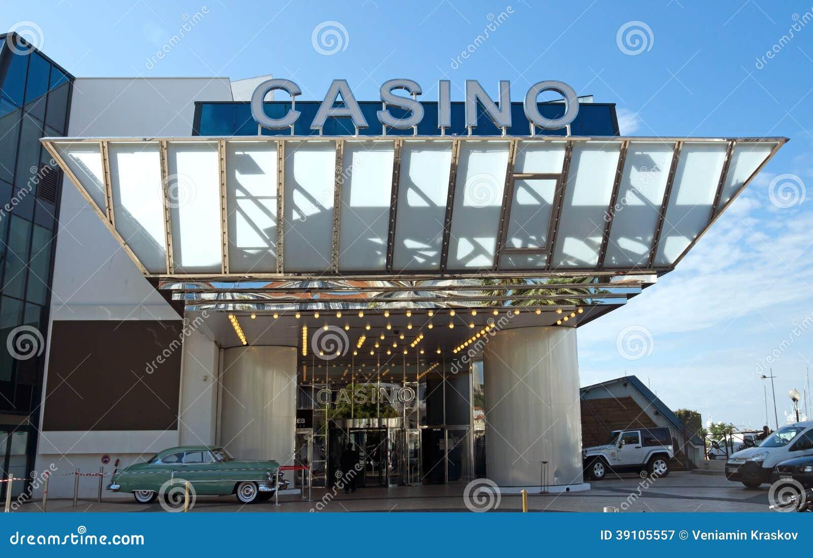 Cannes - Casino in Paleis van Festivallen