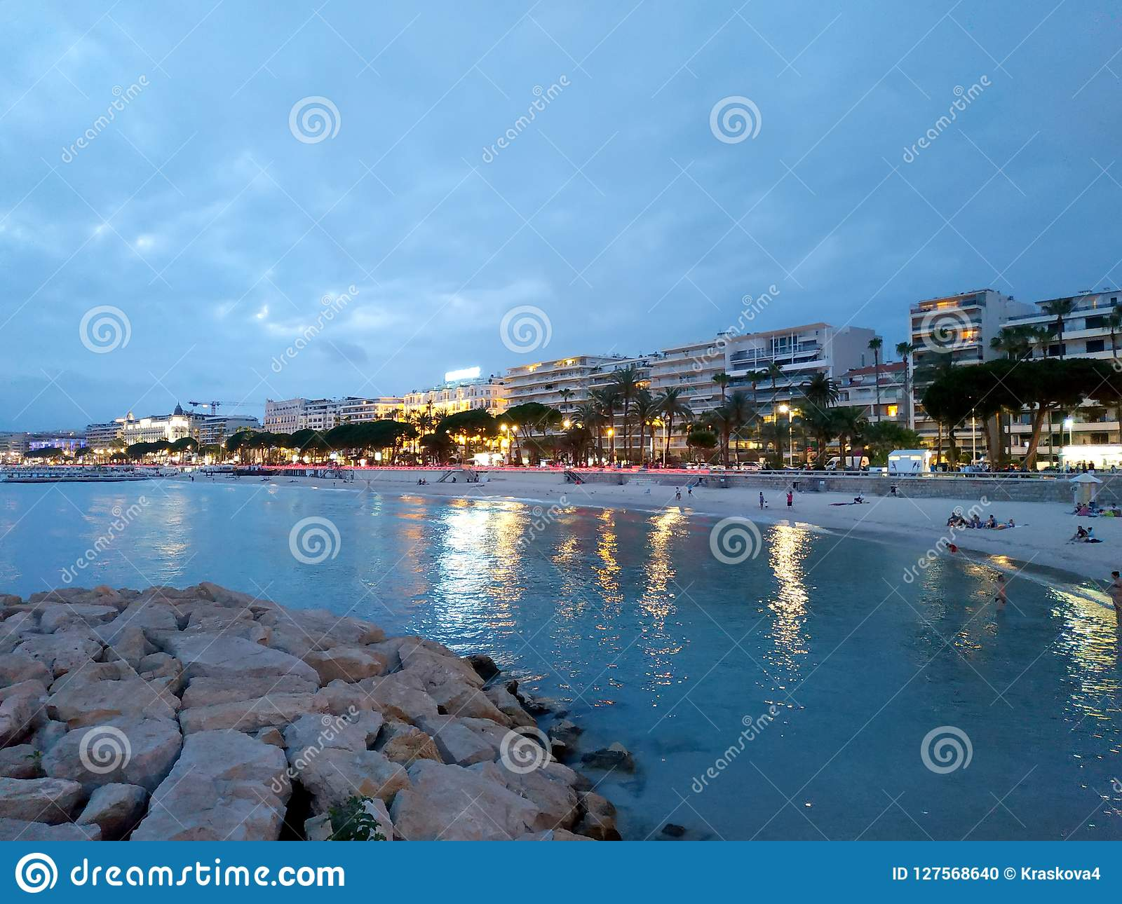 Cannes - Night view