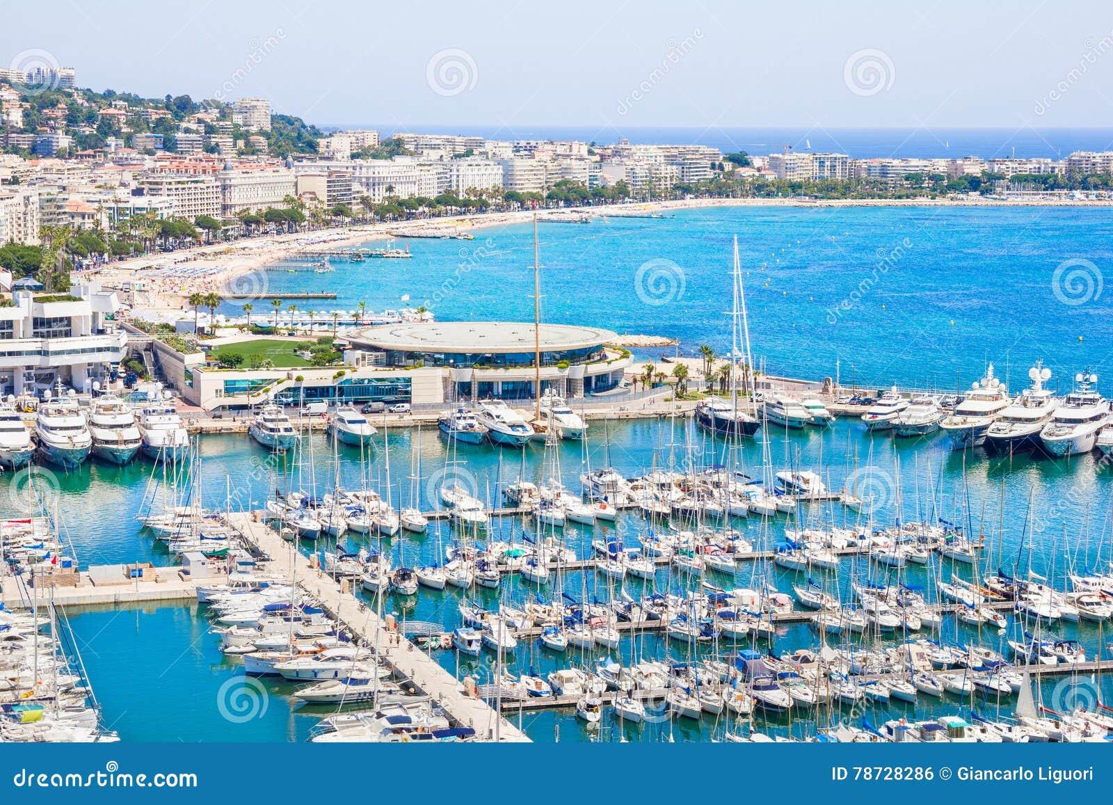 Cannes söder av Frankrike