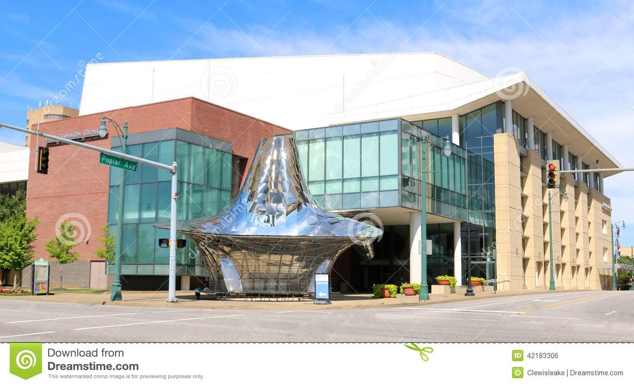 The Cannon Center For Performing Arts, Downtown Memphis ...