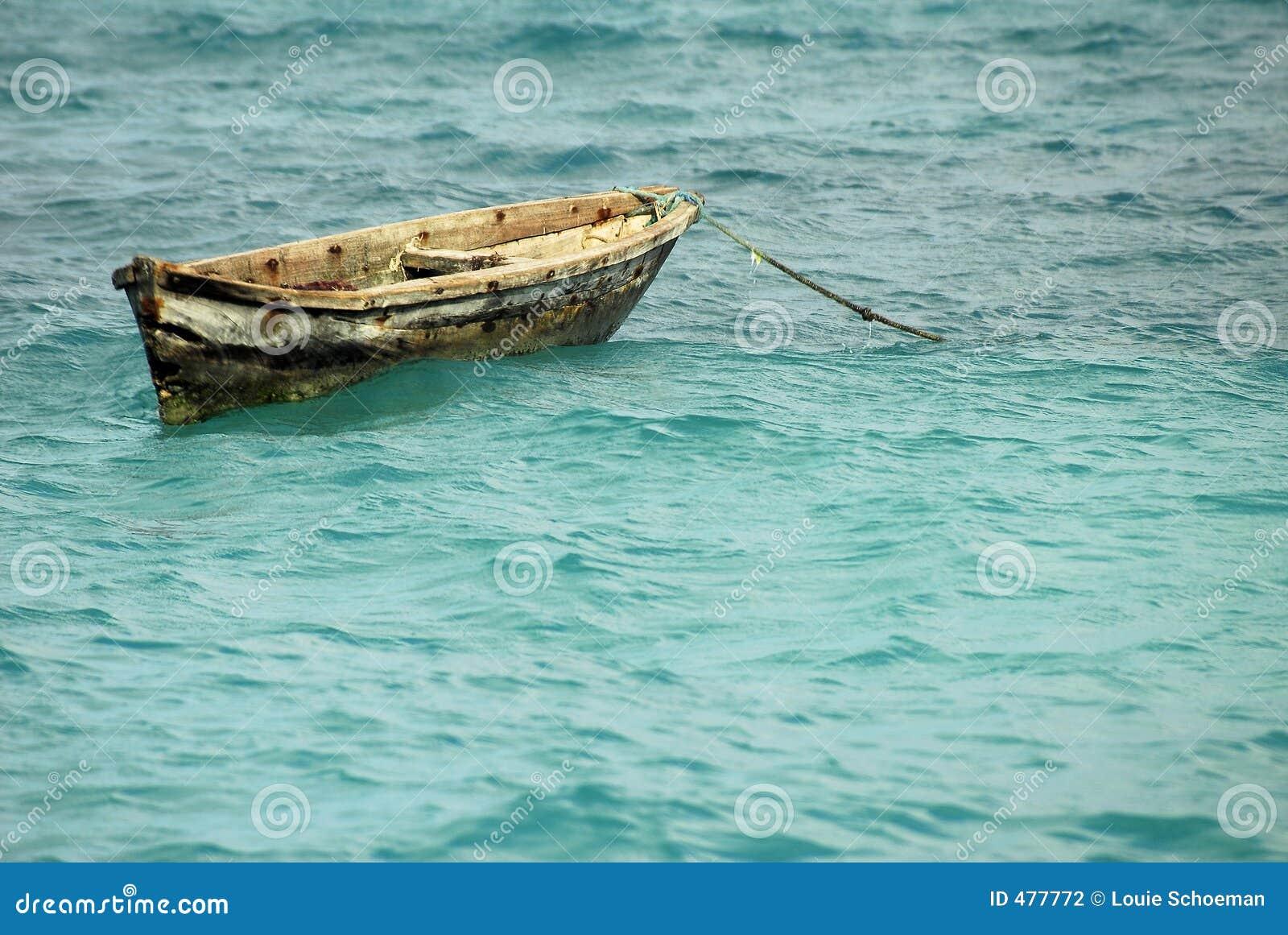 Canoë de pêche, île de Zanzibar