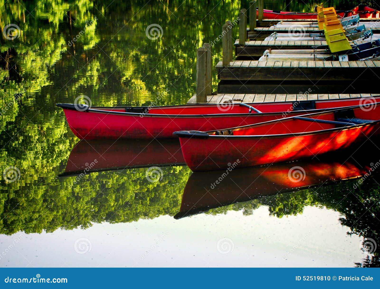 Canoës au dock 3