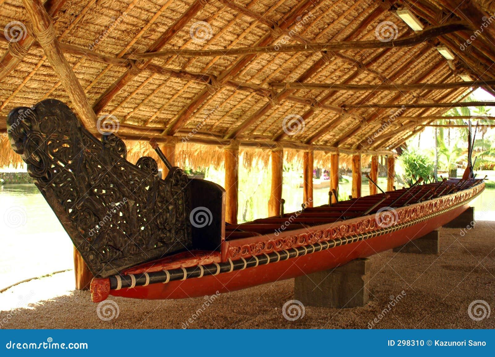 Canoa polinesiana