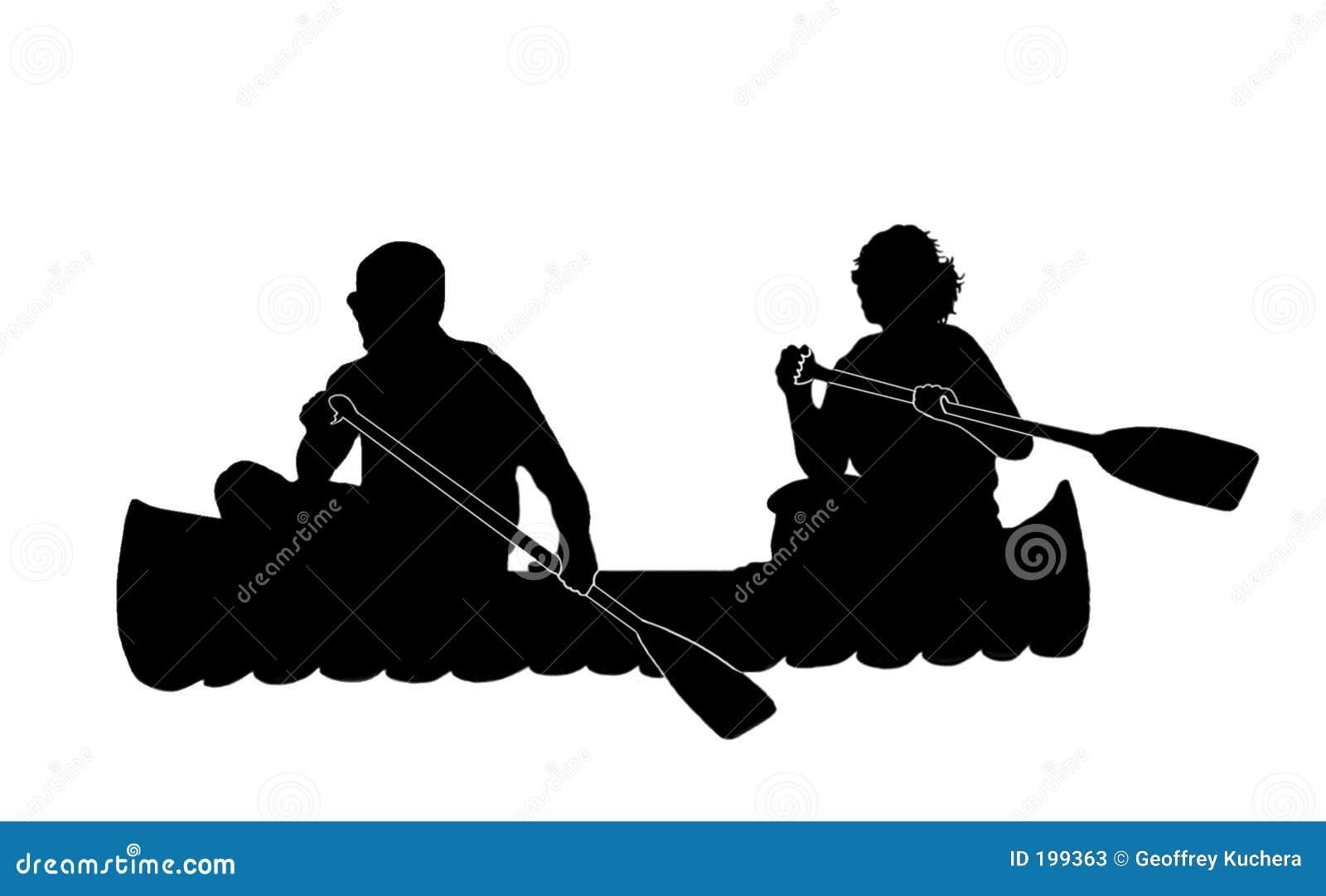 Canoeing de couples