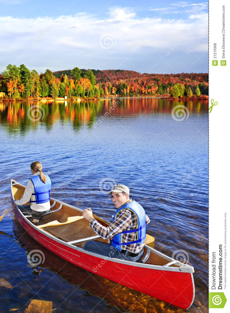Canoing fall