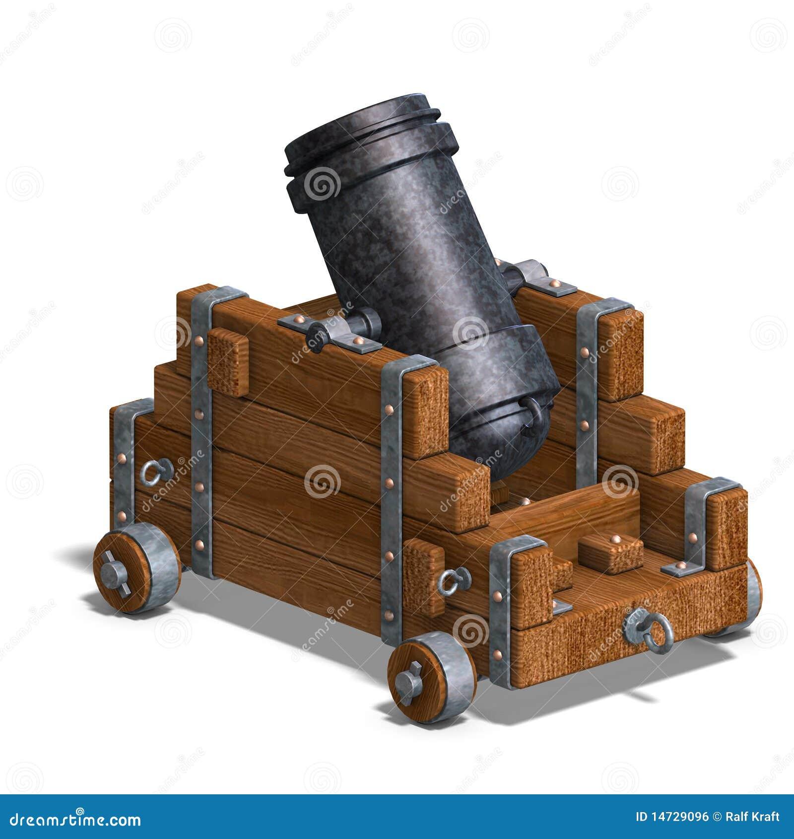 Canon ballistique de mortier