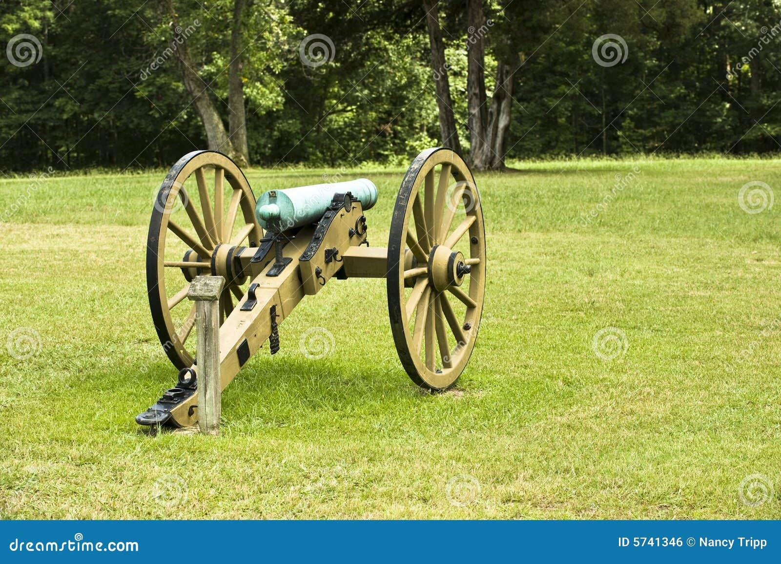 Un canon de guerre civile sur l'affichage en stationnement