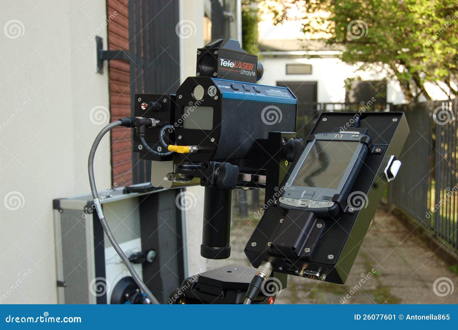 Canon de vitesse de radar à laser