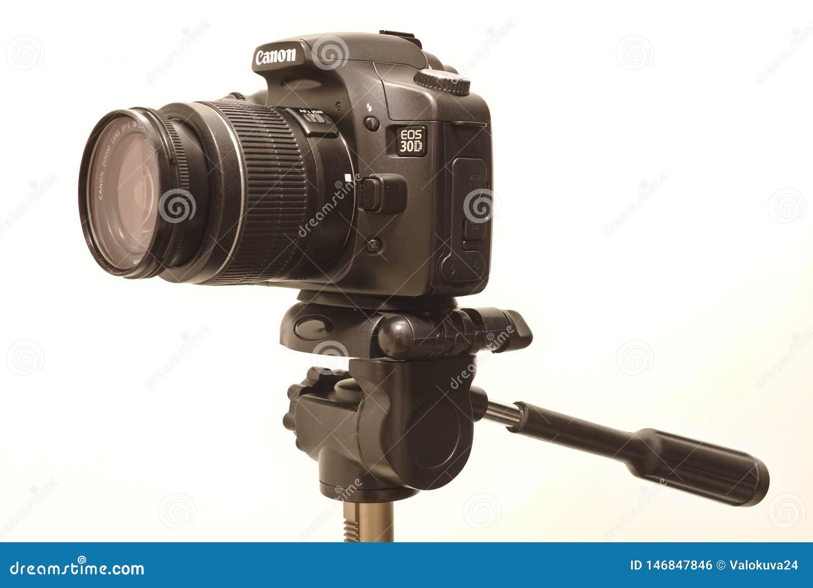 Canon Eos 30d Camera Editorial Photo Image Of Photoshoot 146847846