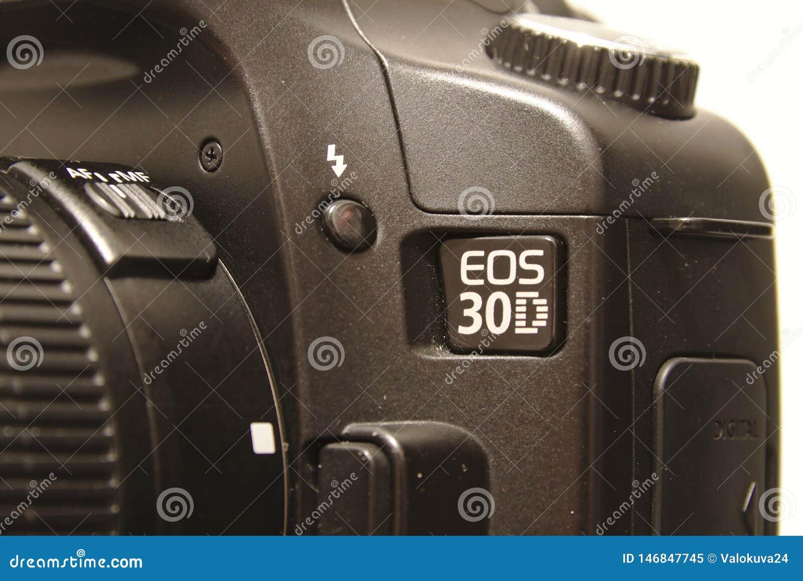 Canon Eos 30d Editorial Image Image Of Closeup Dslr 146847745