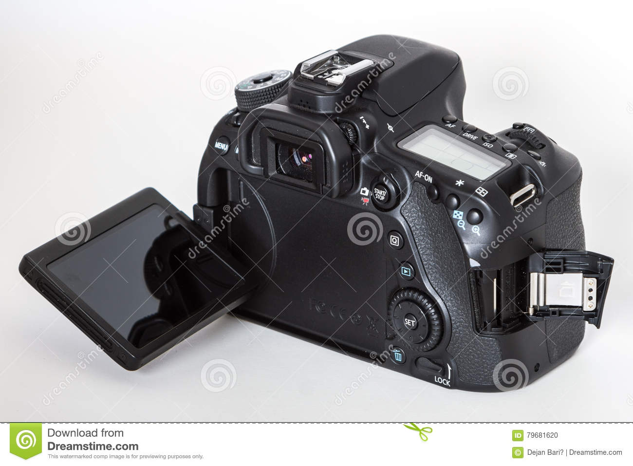 Canon EOS 80D DSLR camera editorial image  Image of graphic