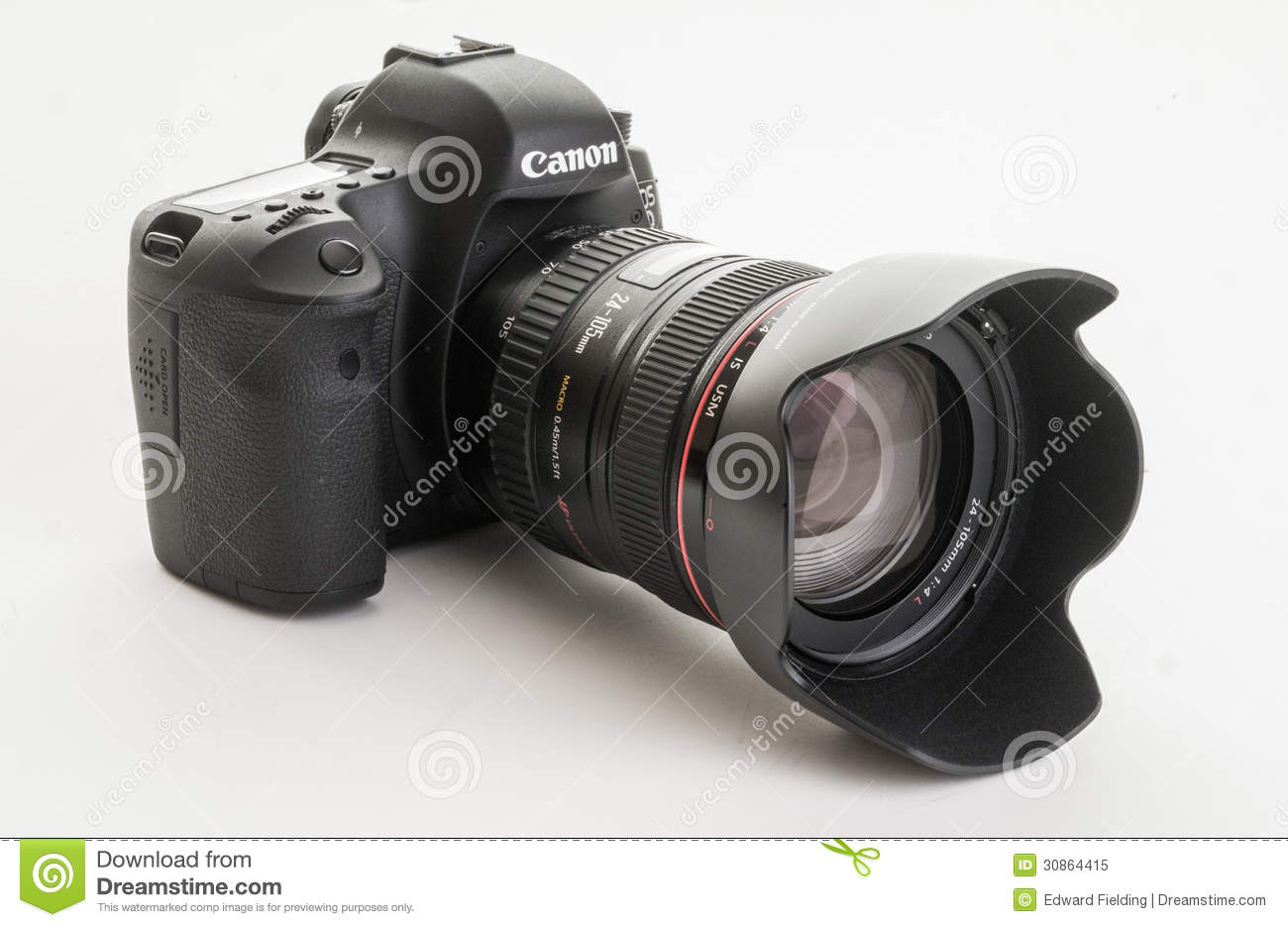 Canon EOS 6D Modern Digital Single Lens Reflex Camera Editorial ...