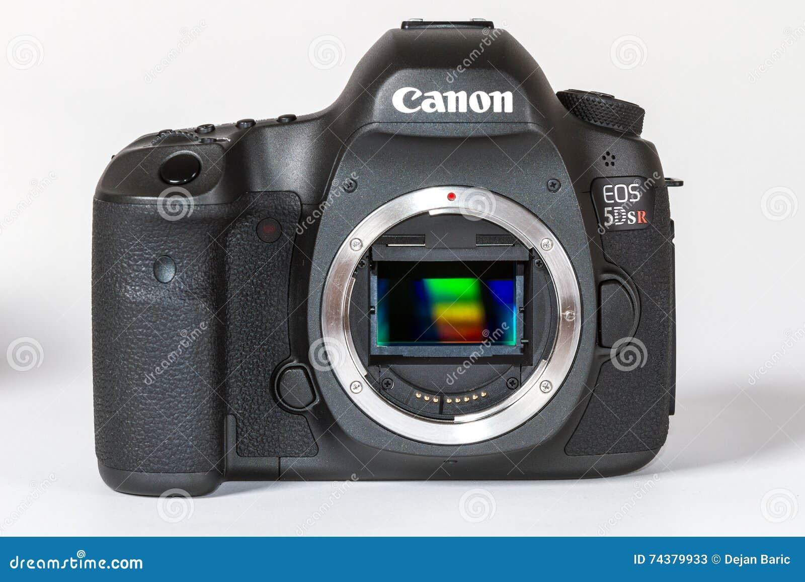 CANON EOS 5DSR and 5Ds DSLR 50 megapixels