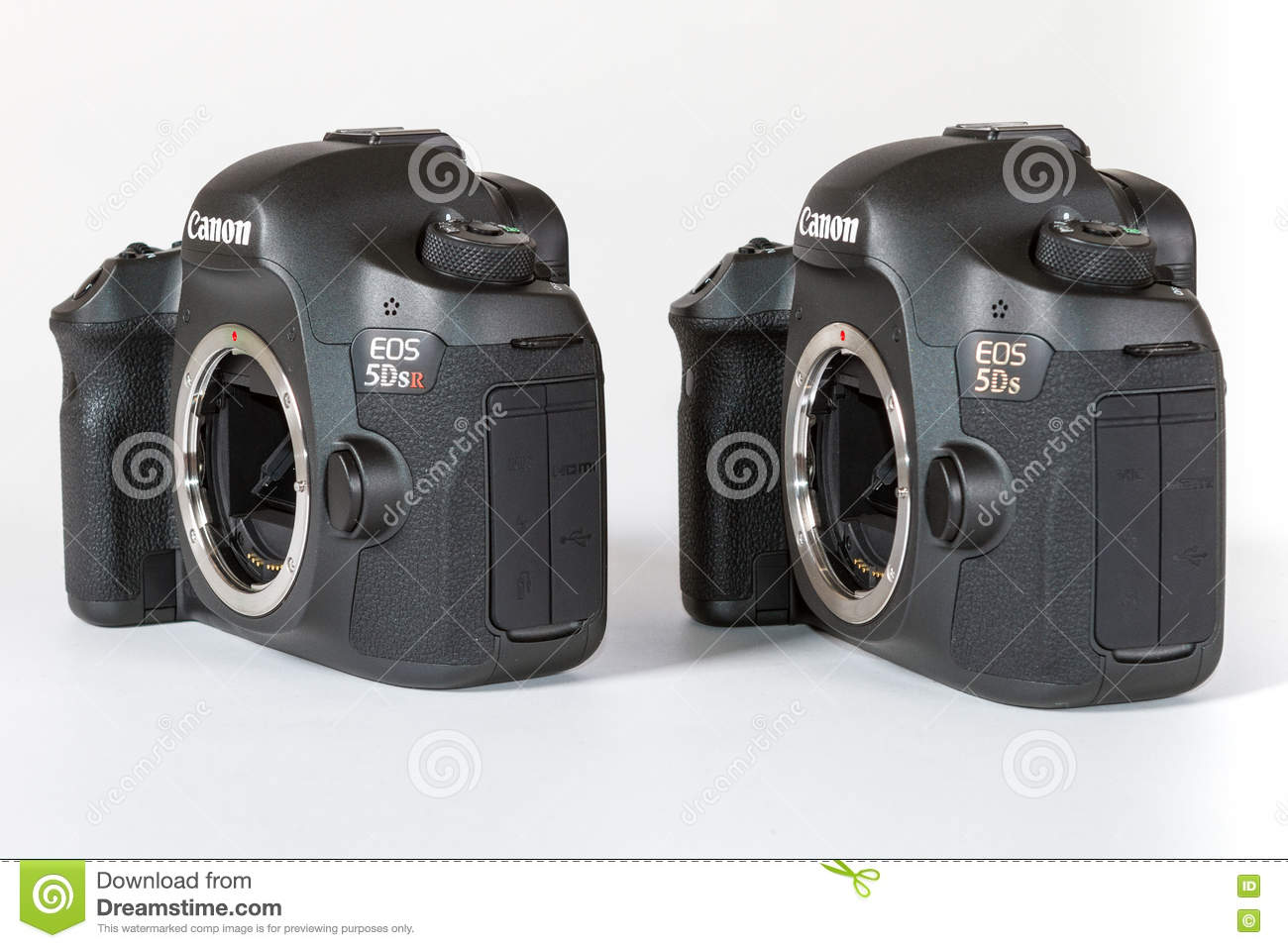 CANON EOS 5DSR and 5Ds DSLR 50 megapixels