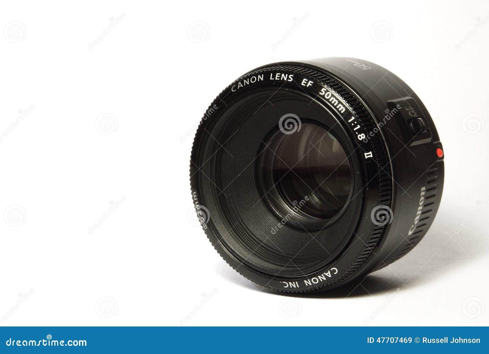 Canon 50mm E-F f/1 8 II