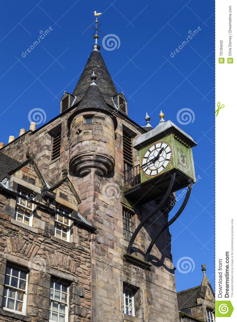 Canongate Tolbooth i Edinburg