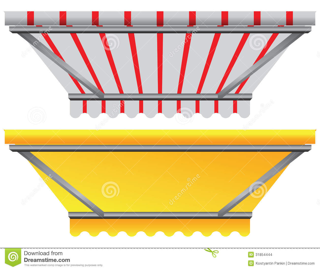 Canopy Above The Window Stock Images Image 31854444