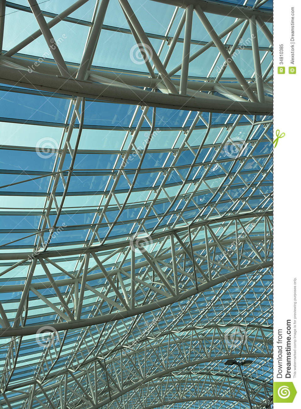 Canopy Of Curves Stock Image Image Of Structure Canopy