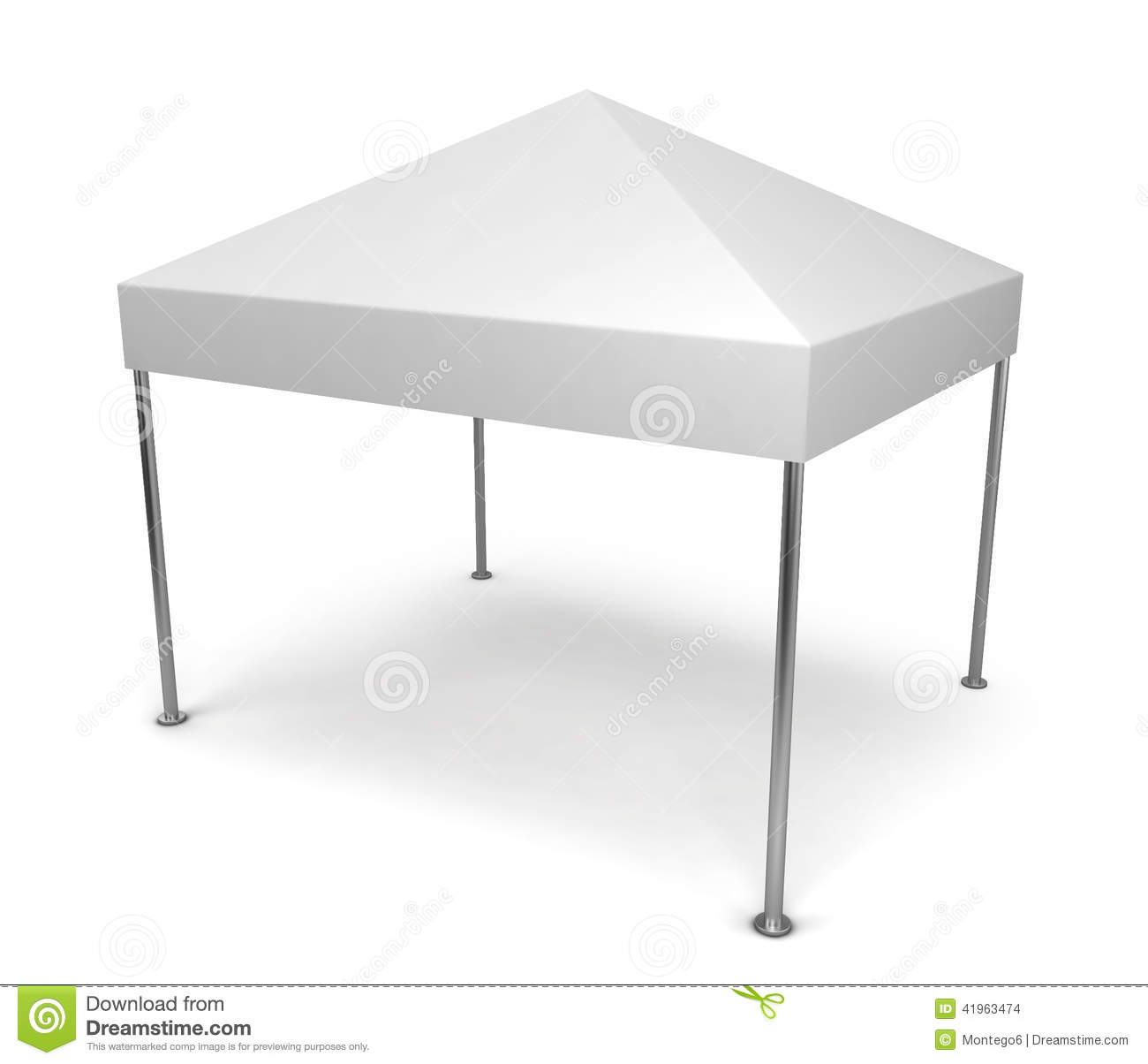 Canopy tent. Illustration commercial.  sc 1 st  Dreamstime.com & Canopy tent stock illustration. Illustration of illustration ...